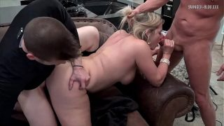 Horny amateur sluts sucking and fucking in homemade sextape